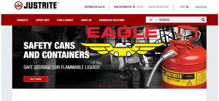 Justrite Safety Group Acquires Eagle Manufacturing Co.