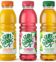 Sunmagic rolls out rebranded juice range
