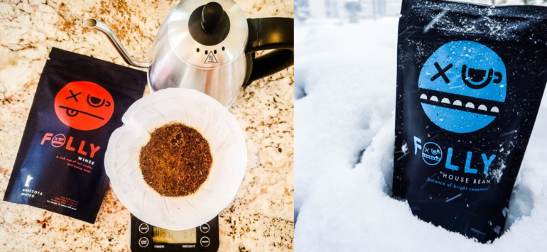 New coffee brand Folly Coffee embraces its Minnesota roots