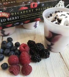 Decadent Delights offers frozen dessert on a stick or in a cup