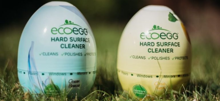 International Review: Shrink Sleeve Design for Egg-Shaped Cleaner