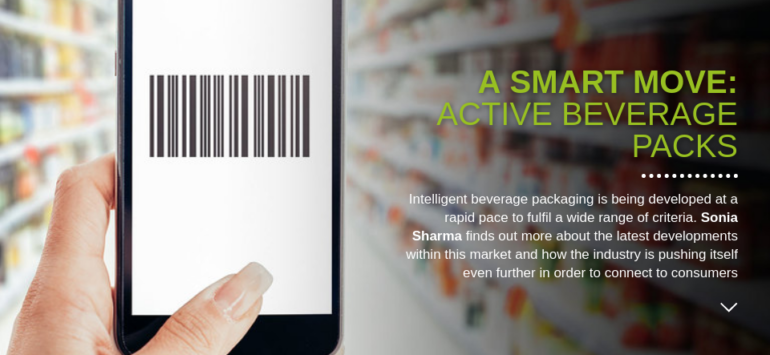 International Outlook: A smart move by implementing active beverage packs
