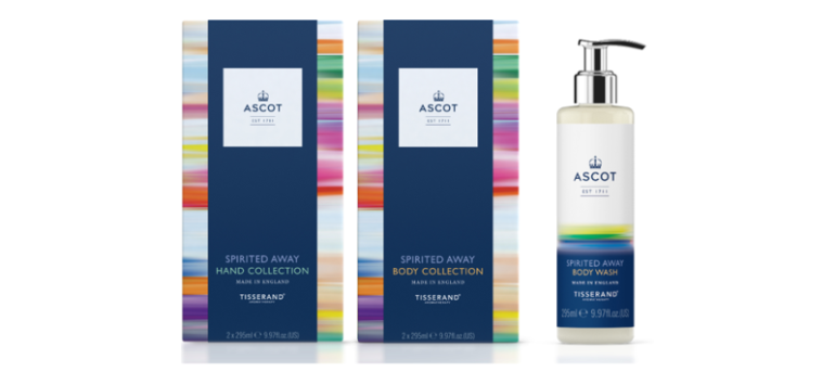 Biles Hendry designs branding for Tisserand at Ascot