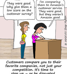 Five Ways to Disrupt Your Competition with Customer Service