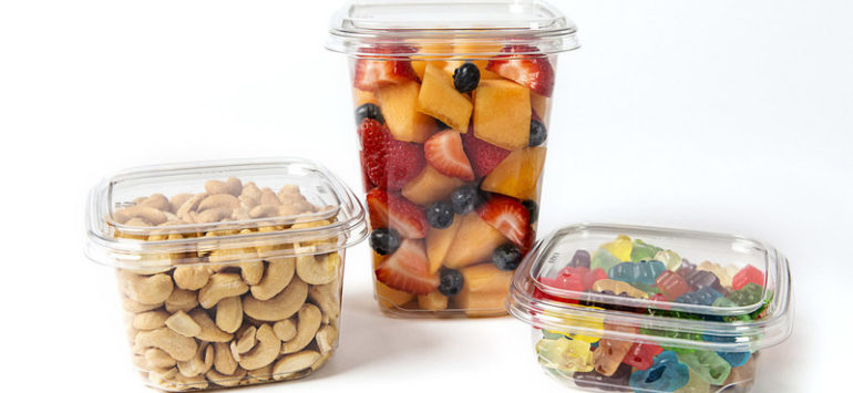 Sustainability Focus: Fabri-Kal launches TruWare square containers for food packaging