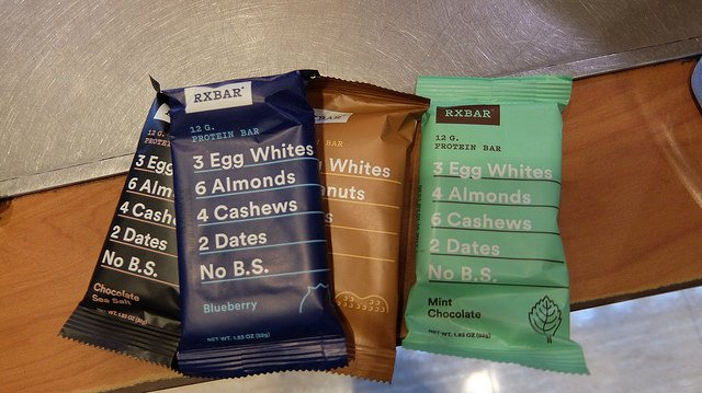 RXBAR sued over ingredient claims on its packaging