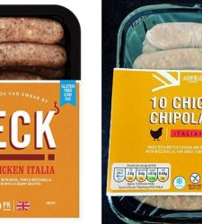 Founder of posh sausage firm Heck accuses Aldi 'cowboys' of copying his Italian-style bangers
