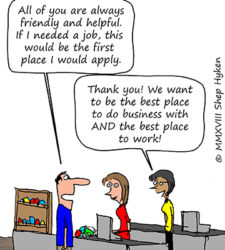CX and EX (Customer Experience and Employee Experience)