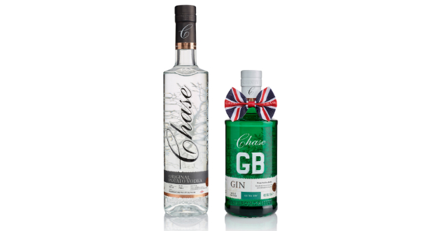 Chase Distillery creates new designs for its spirits range
