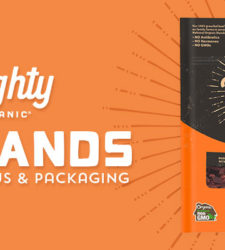 Mighty Organic Rebrands With New Focus and Packaging